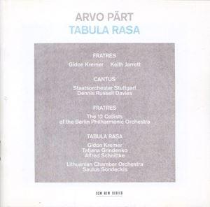Picture of Arvo Pärt – Tabula Rasa