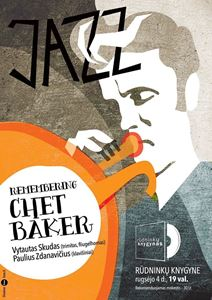 Picture of Remembering Chet Baker: koncertas knygyne!