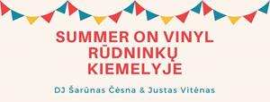 Picture of Summer on vinyl Rūdninkų knygyno kiemelyje