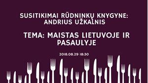 Picture of Susitikimai Rūdninkų knygyne: Andrius Užkalnis