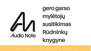 Picture of Audio Note mylėtojų susitikimas Rūdninkų knygyne