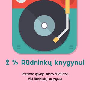 Picture of Jūsų 2 procentai džiazui!
