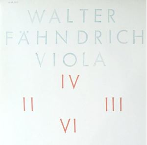 Picture of Walter Fahndrich Viola