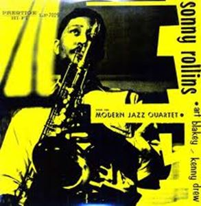 Изображение Sonny Rollins With Modern Jazz Quartet, The Featuring Art Blakey & Kenny Drew ‎– Sonny Rollins With The Modern Jazz Quartet