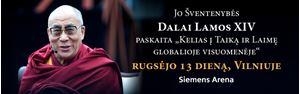 Picture of Jo Šventenybės Dalai Lamos XIV vizitas Vilniuje rugsėjo 11-14 d.