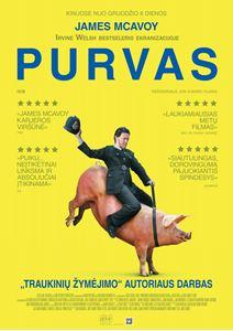 "Picture of Irvine Welsh ""Purvas"" - kino ekranuose!"