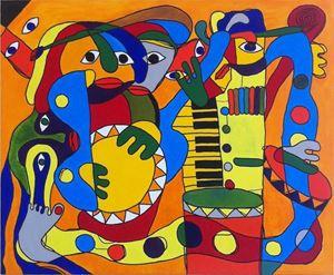 Picture of Martyno Ivinsko tapybos darbų paroda