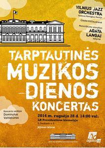 Picture of AGATA organizuojamas koncertas tarptautinės muzikos dienos proga - šį sekmadienį!