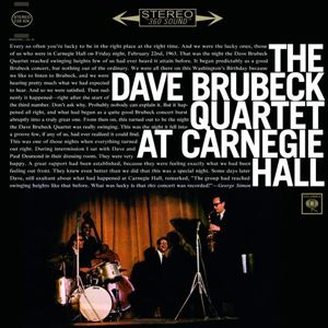 Изображение  The Dave Brubeck Quartet ‎– At Carnegie Hall