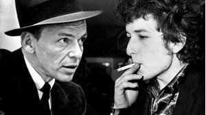 Picture of Frankas Sinatra Bobo Dylano lūpomis