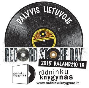 """Picture of Record Store Day - balandžio 18 d. su sunkiosios muzikos grandais """"Obtest"""" ir """"Dissimulation""""!"""