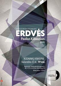 """Picture of Balandžio 23d . – improvizacinės muzikos koncertas """"Erdvės"""""""