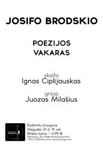 Picture of Gegužės 21 d. - Josifas Brodskis pagal Juozą Milašių ir Igną Ciplijauską