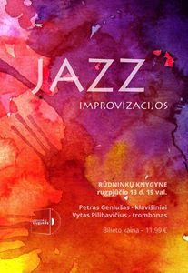 Picture of Džiazo improvizacijos: P. Geniušo ir V. Pilibavičiaus duetas. DĖMESIO! Bilietai išparduoti