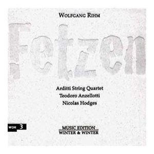 Изображение Wolfgang Rihm – Arditti String Quartet, Teodoro Anzellotti, Nicolas Hodges – Fetzen