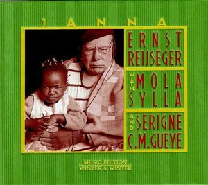 Picture of  Ernst Reijseger with Mola Sylla and Serigne C.M. Gueye – Janna
