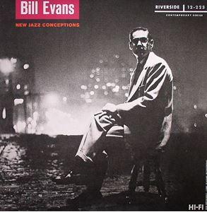 Изображение  Bill Evans – New Jazz Conceptions