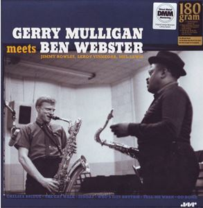 Изображение Gerry Mulligan, Ben Webster ‎– Gerry Mulligan Meets Ben Webster