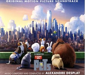 Изображение  Alexandre Desplat ‎– The Secret Life Of Pets Soundtrack