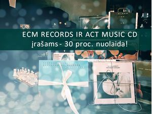 Picture of Akcija ECM Records ir ACT Music albumams