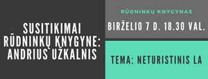 Picture of Susitikimai Rūdninkų knygyne: Andrius Užkalnis / SOLD OUT