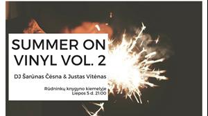 Picture of Summer On Vinyl Vol. 2 Rūdninkų knygyno kiemelyje