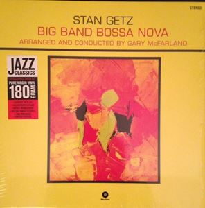 Изображение Stan Getz ‎– Big Band Bossa Nova