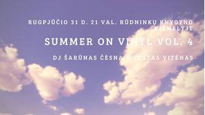 Picture of Summer On Vinyl Vol. 4 Rūdninkų knygyno kiemelyje