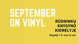 Picture of September on Vinyl Rūdninkų knygyno kiemelyje