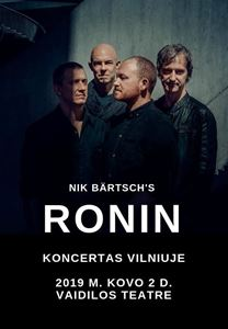 Picture of Pasaulinio garso džiazo žvaigždės Nik Bärtsch's Ronin atvyksta į Vilnių
