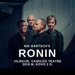 Picture of Susipažinkite iš arčiau: Nik Bärtsch's Ronin