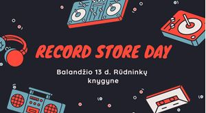Picture of Record Store Day Rūdninkų knygyne