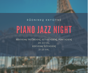 Picture of Gyva pianino muzika - net 4 kartus per savaitę!